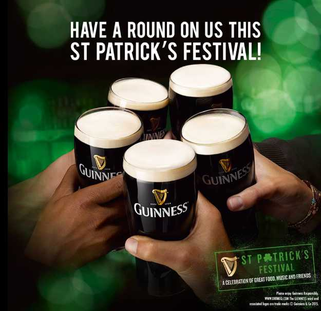 FREE pint of Guinness Draught at Guinness #Singapore