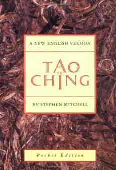 Free Tao Te Ching Kindle Edition at Amazon