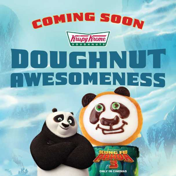 Stand a chance to catch Kung Fu Panda 3 at Krispy Kreme Doughnuts Malaysia