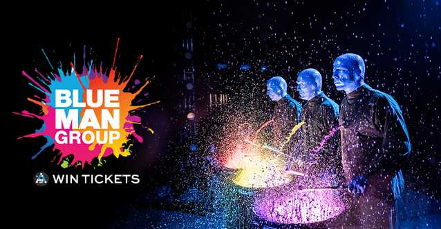 WIN TICKETS TO THE BLUE MAN GROUP at AList Singapore