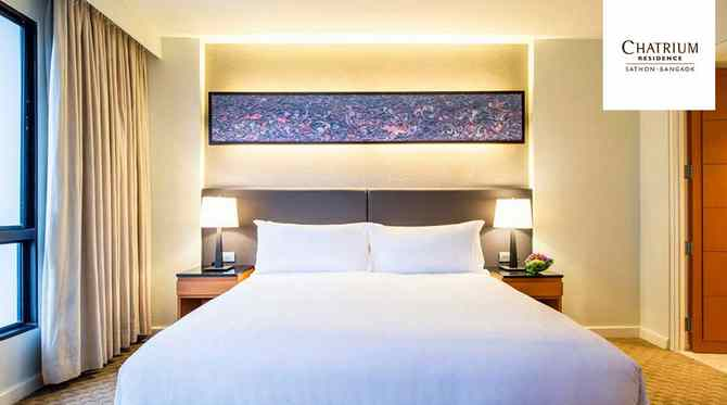 Win 3 nights accommodation inclusive of breakfast for 2 persons at Chatrium Residence Sathon Bangkok