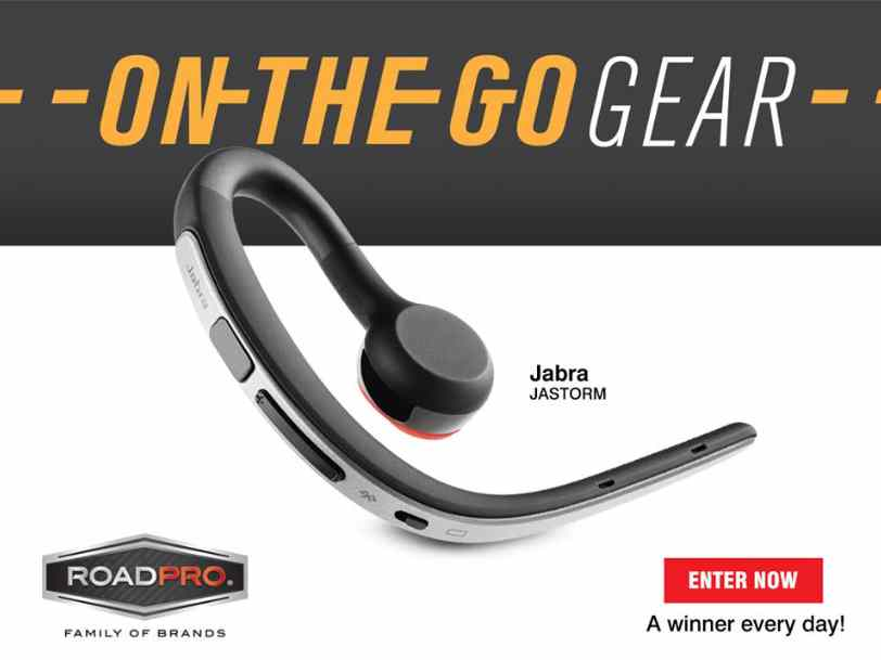 #Win Jabra Storm Bluetooth Headset at RoadPro Family of Brands