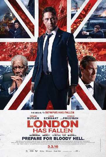 Win London Has Fallen Movie Premiums at Cathay Cineplexes Sdn Bhd