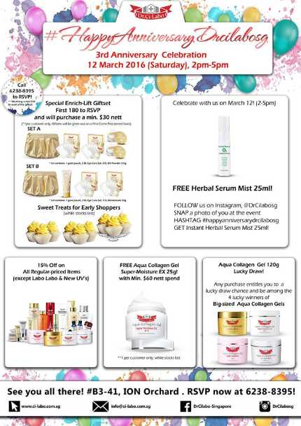 Win Special Edition Aqua Collagen Gel Enrich-Lift EX at Dr.CiLabo Singapore