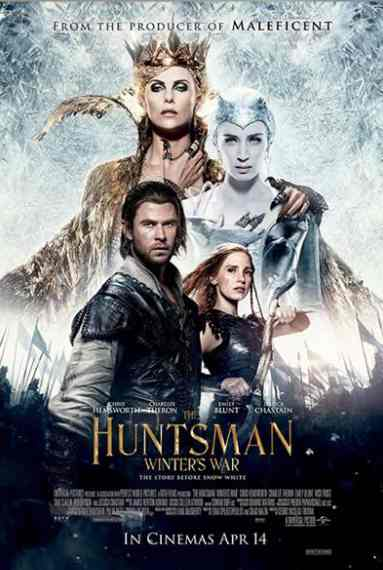 Win a pair of tickets to the Gala Premiere of THE HUNTSMAN WINTER'S WAR at United International Pictures Singapore