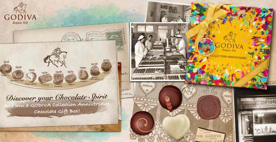 Celebrating Godiva Chocolatier 90th Anniversary Discover Your Chocolate Spirit Round 2