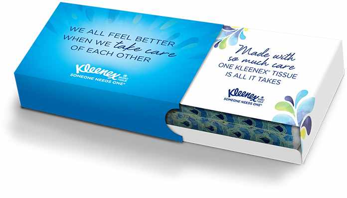 FREE personalized Kleenex Care Pack!