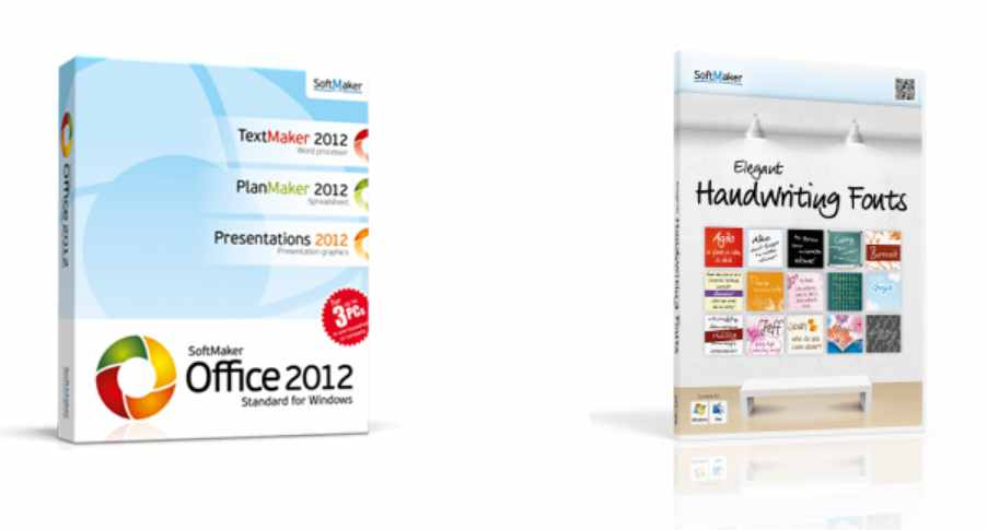 Free Softmaker Software with a value of nearly €US$ 90