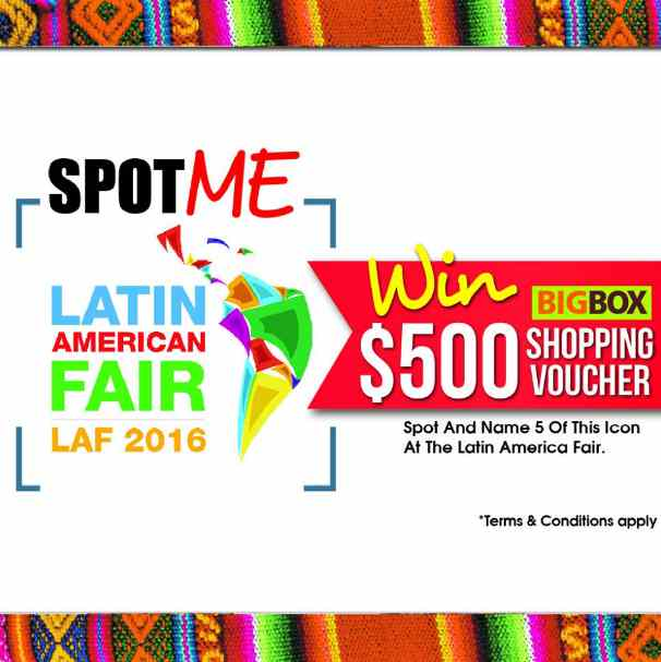 Latin American Fair's SPOT ME Time at Big Box