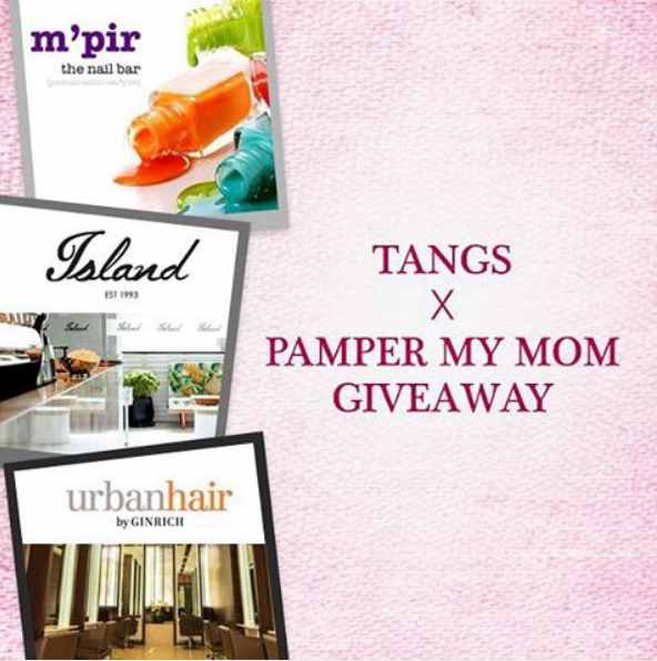 Mother's Day Giveaway at Tangs