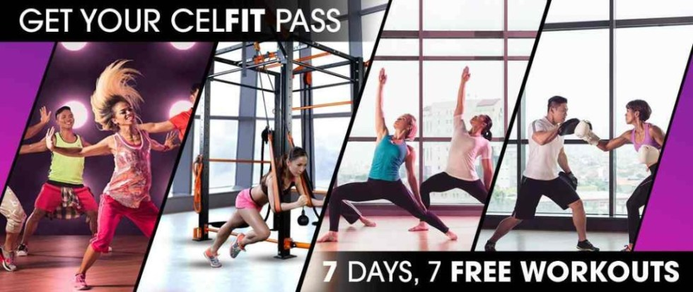 The CELFIT PASS gives you free access to Singapore's #1 Fitness Destination