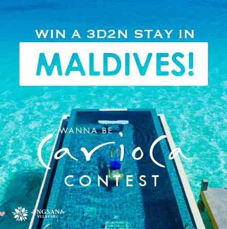 WIN A 3D2N STAY IN MALDIVES AT MELISSA MALAYSIA
