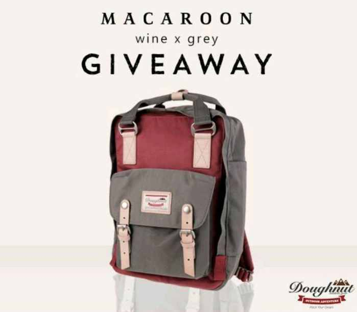 Win a Doughnut Macaroon Backpack now