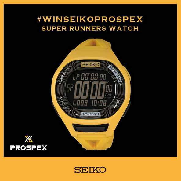 #Win a Limited Edition SEIKO Prospex Super Runners timepiece