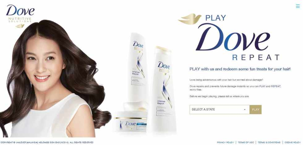 #Free fun treats for your hair at DOVE Malaysia