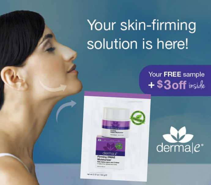 Receive a sample of our Firming DMAE Moisturizer