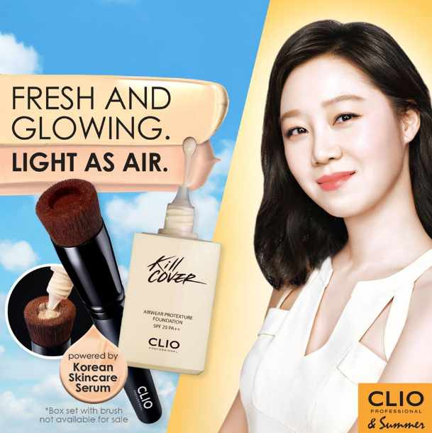 WIN an exclusive box set that includes a CLIO Professional Foundrop Make-up Brush