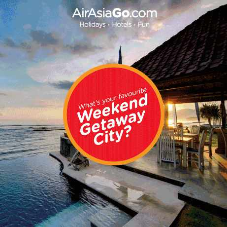 #Win a free vacation stay at a 4 star hotel (worth $1200) for 2 nights at AirAsiaGo Singapore