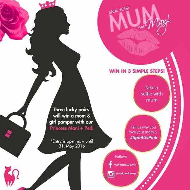 #Win a mom & girl pamper with our Princess Mani + Pedi at Pink Parlour Girls