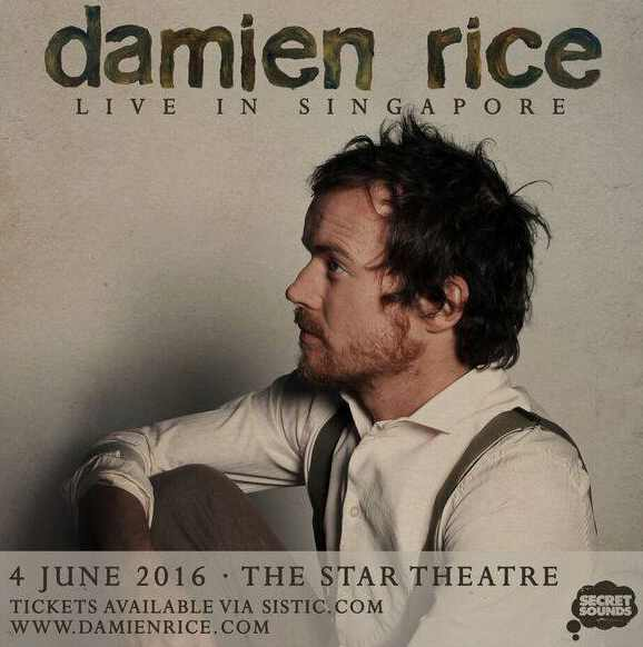 Win a pair of tickets to catch Damien Rice performing live at The Star Theatre at Muddy Murphy's
