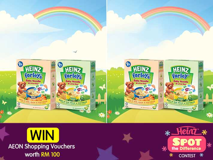 #Win an AEON Shopping Voucher worth RM 100 at Heinz Babies Malaysia