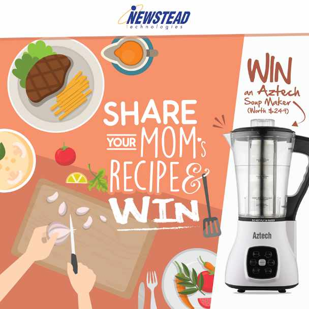 #Win an Aztech Soup Maker at Newstead Technologies