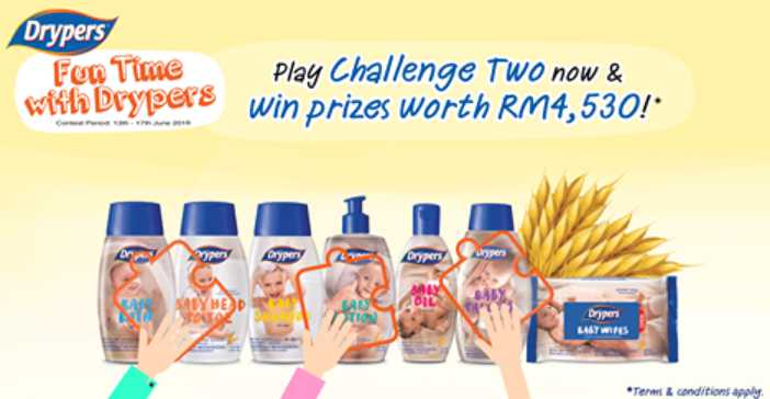 """Fun Time with Drypers"" Challenge"