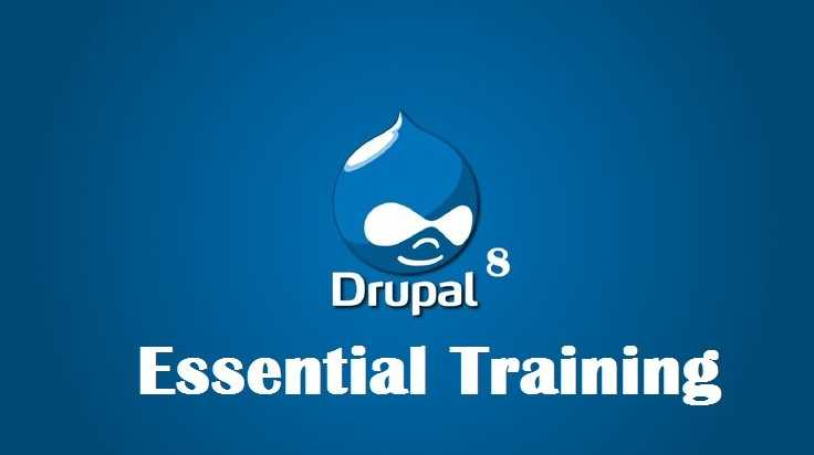 #Free #Udemy Course on Drupal 8 Essential Training
