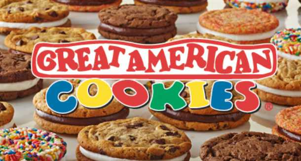 Free birthday surprises at Great American Cookies