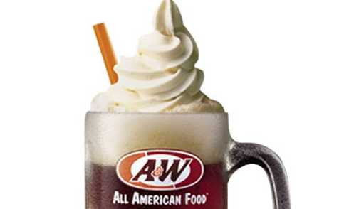 Free root beer float on your birthday at A&W All American Food