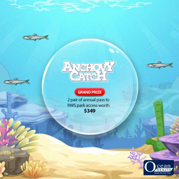 Join the Anchovy Catch with Ocean Health & #Win amazing prizes