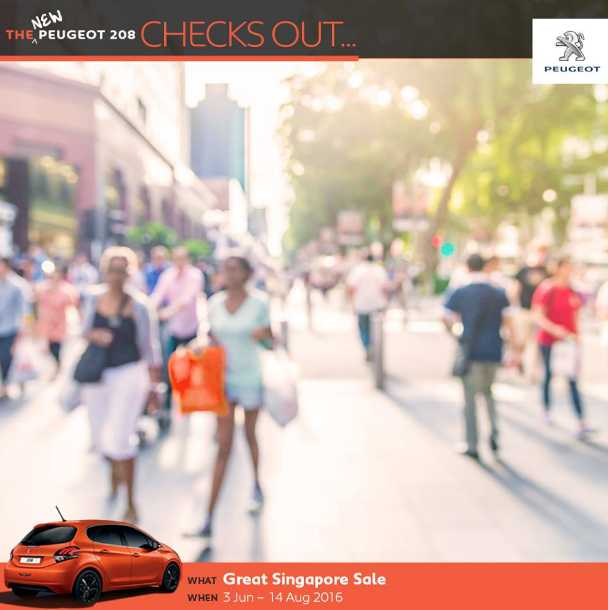 Peugeot Singapore GSS Contest Giveaway