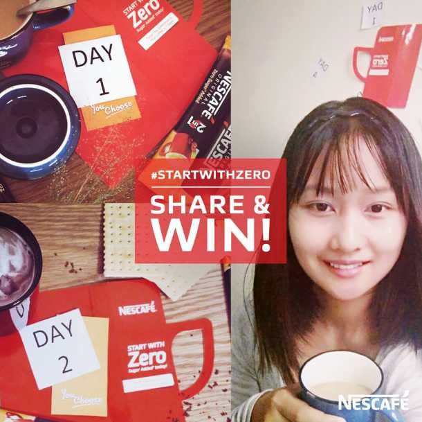 Share & stand a chance to WIN a NESCAFÉ Goodie Bag today!