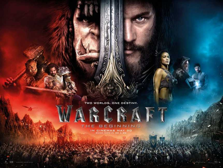 Stand a chance to win WARCRAFT THE BEGINNING Horde T-shirt, Alliance T-shirt & keychains at Filmgarde Cineplex