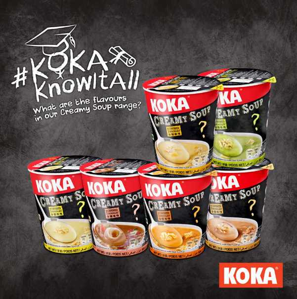 Stand a chance to win a SGD $10 NTUC Voucher at Koka Noodles