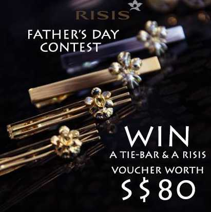#WIN a tie bar and an $80 voucher from RISIS Singapore