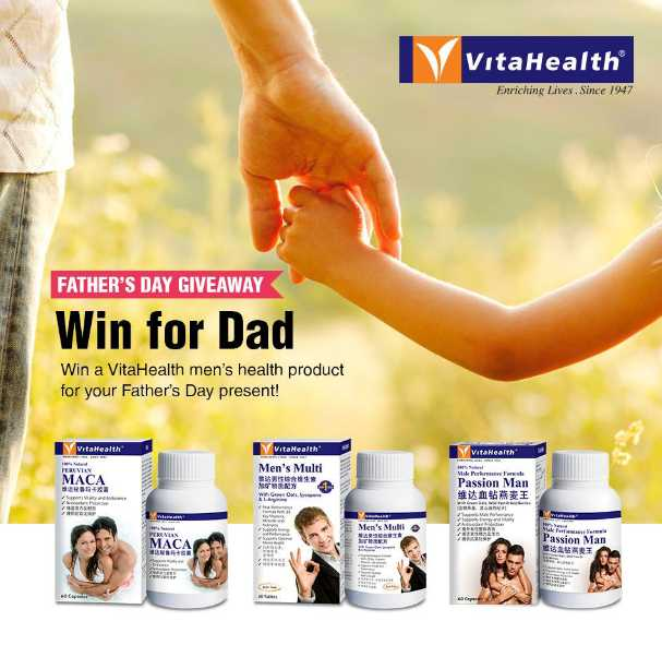 #Win VitaHealth Passion Man for your Father