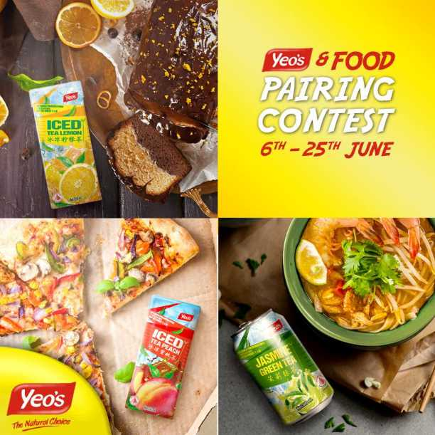 Yeo's & Food Pairing Contest is here!