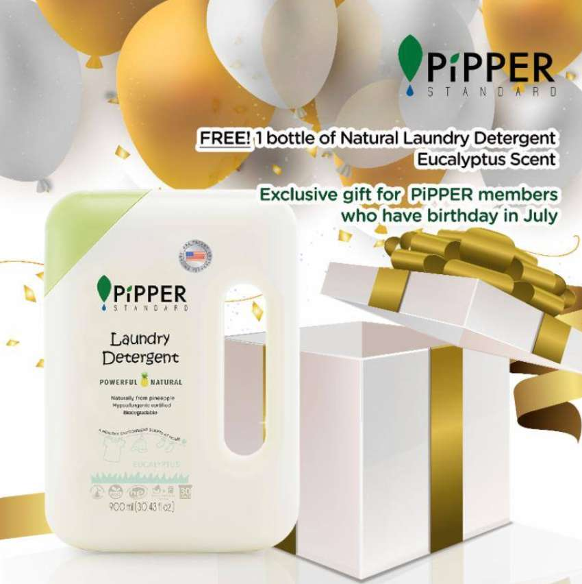 Claim your FREE July Birthday Gift at Pipper Fan Club Singapore
