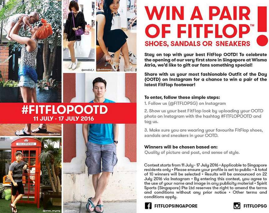 Pose and Win at FitFlop™