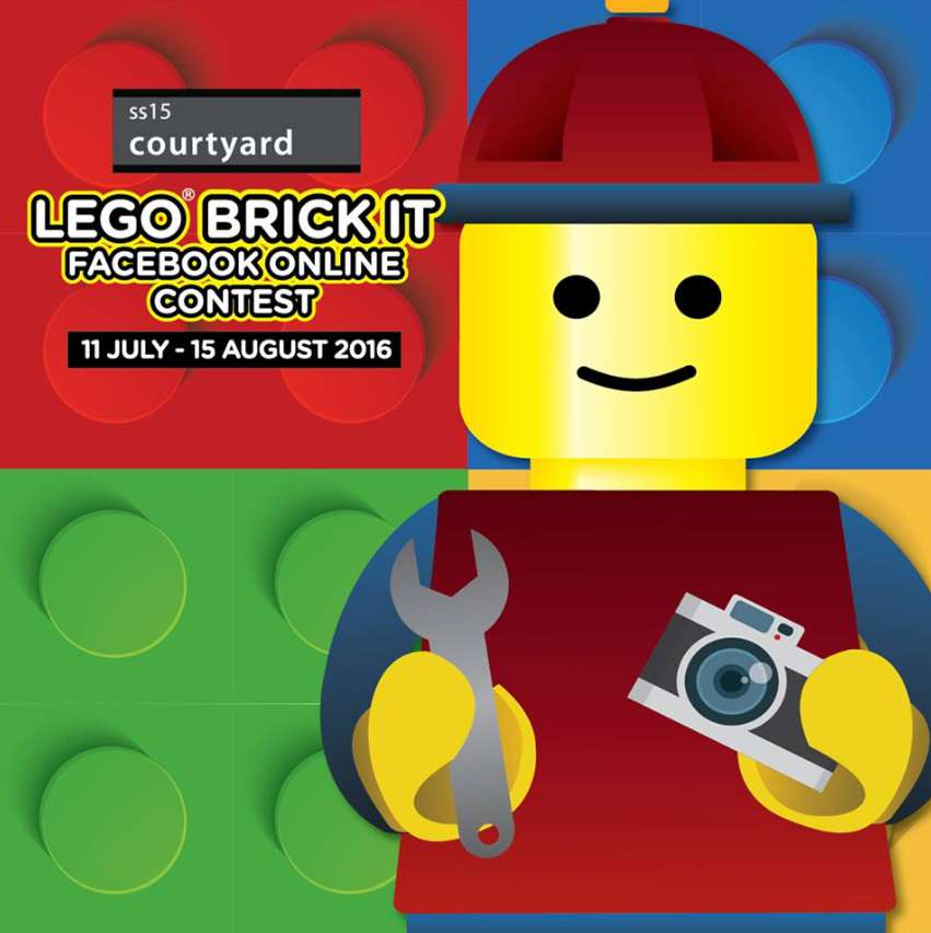 SS15 LEGO BRICK IT FACEBOOK ONLINE CONTEST