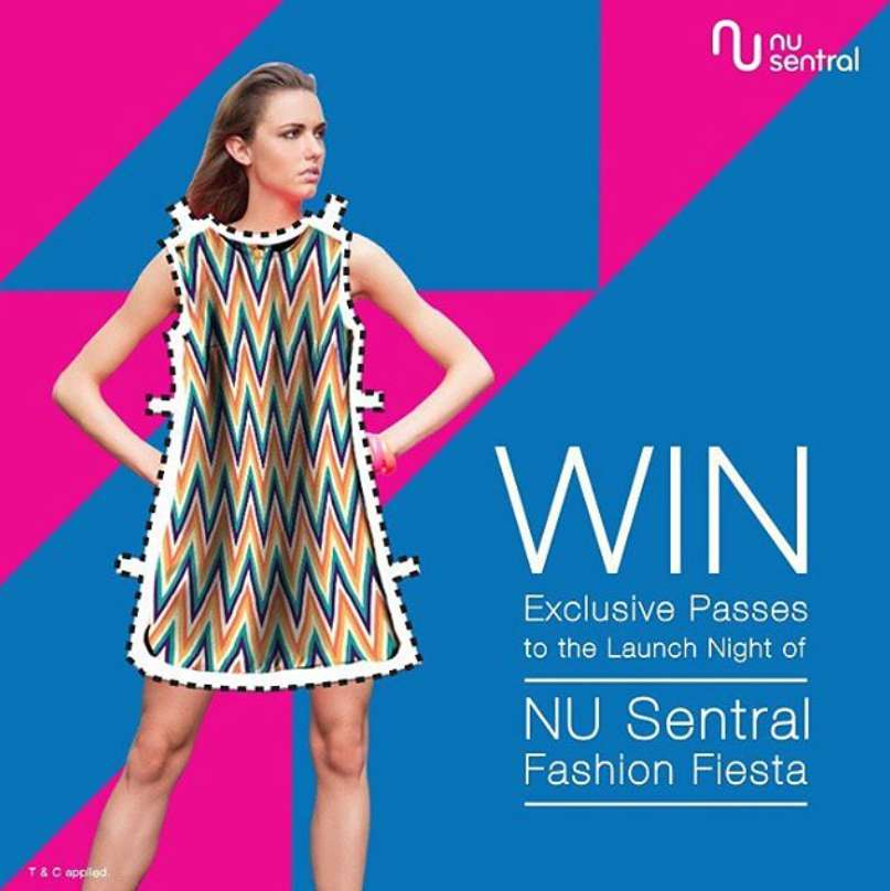 #WIN a pair of exclusive passes to the Opening Night of NU Sentral Fashion Fiesta