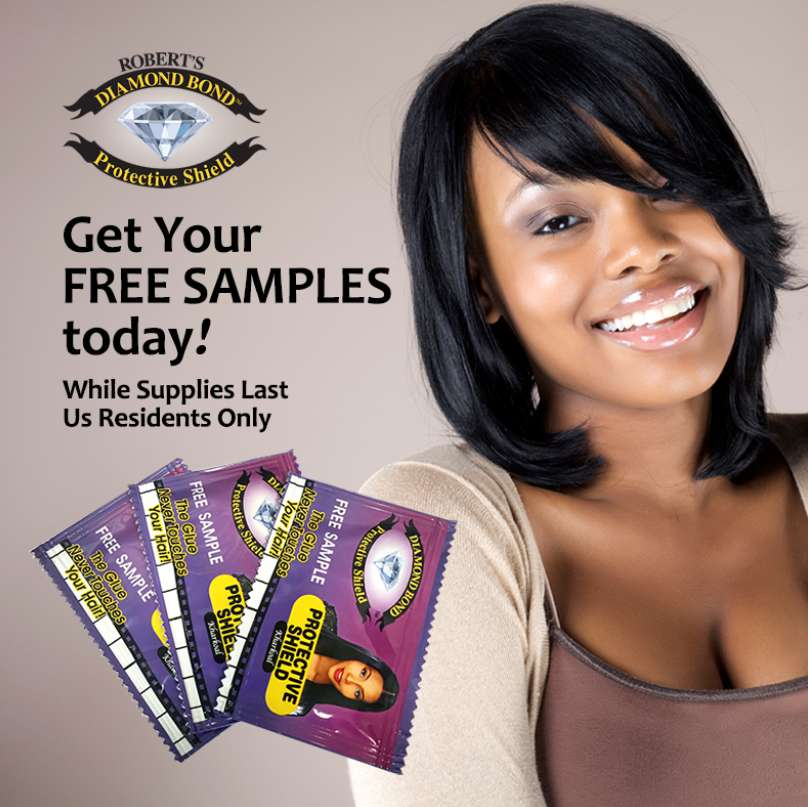 #Free Robert's Diamond Bond Protective Shield #Sample