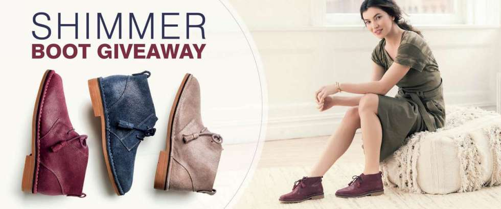 Hush Puppies® Footwear SHIMMER Sweepstakes