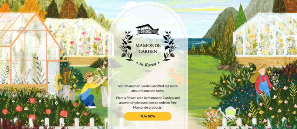 Redeem free Mamonde products