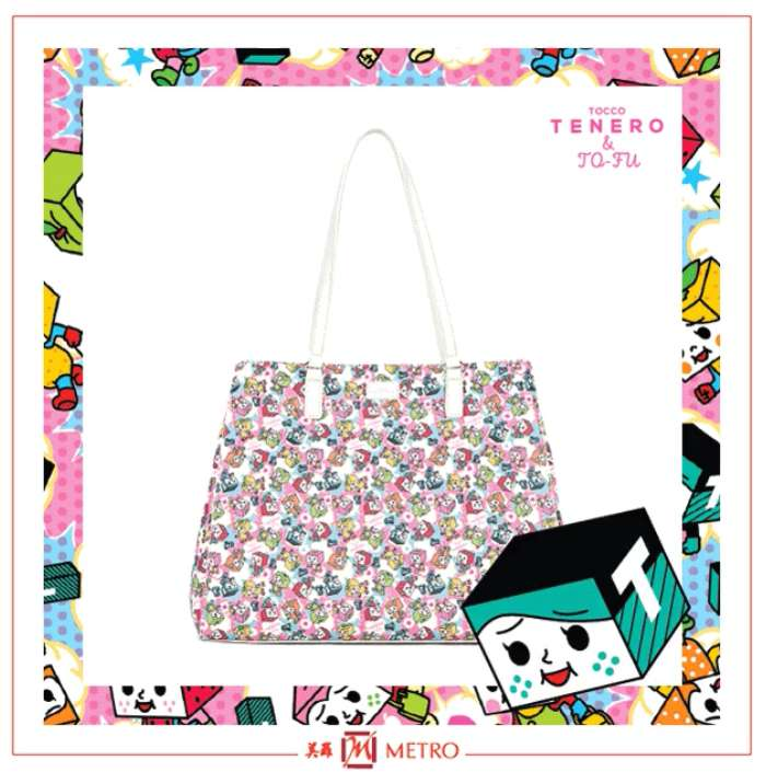 Stand a chance to bring home a TENERO & TO-FU Inverso Tote at METRO (Singapore)