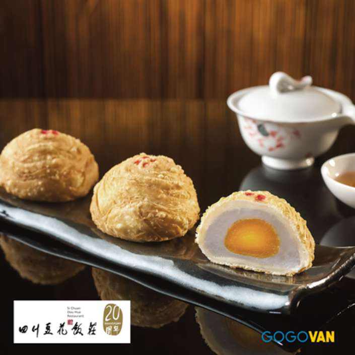 #WIN Filo Pastry Mooncakes from Si Chuan Dou Hua at GoGoVan Singapore