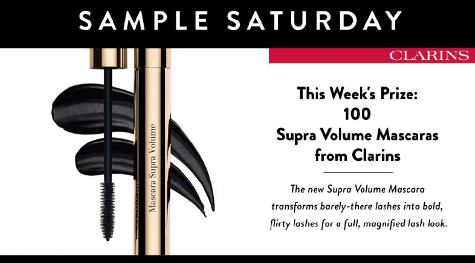 #WIN Supra Volume Mascaras from Clarins