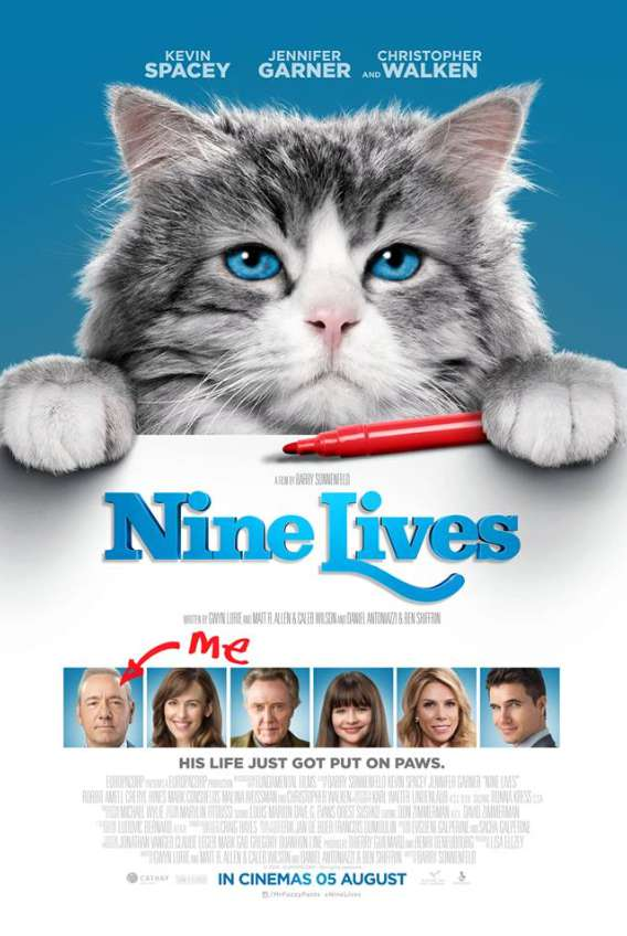 #WIN tickets to the Gala Premiere of Nine Lives at SAFRA Singapore