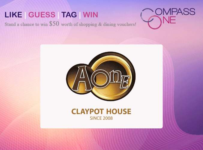 #Win $50 worth of shopping & dining vouchers at Compass One #Singapore